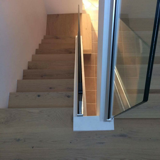 Miroiterie Leys and Fils - escalier